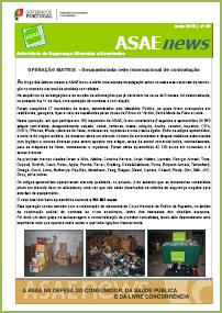 ASAEnews nº 49 - Edição de maio de 2012