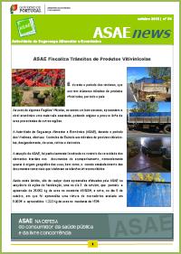 ASAEnews nº 54 - Edição de outubro de 2012