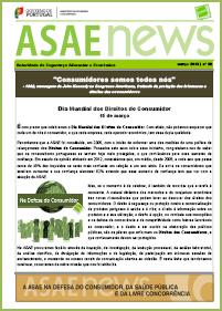 ASAEnews nº 59 - Edição de março 2013