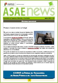 ASAEnews nº 64 - Edição de agosto 2013