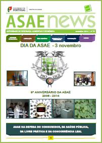ASAEnews nº 79 - Edição de novembro 2014