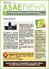 ASAEnews nº 84 - Edição de abril 2015