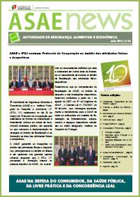 ASAEnews nº 85 - Edição de maio 2015