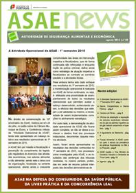 ASAEnews nº 88 - Edição de agosto 2015