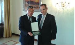 Encontros com os embaixadores do Japão, Bulgária e Coreia dos Sul acreditados em Portugal
