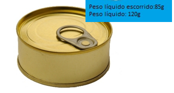 Rotulagem Alimentar – Quantidade Líquida