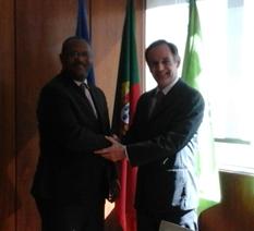 Encontro com o Embaixador da Guiné Equatorial