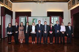Missão a Macau de 2 a 21 de maio de 2017