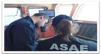 A ASAE realizou uma operação conjunta com a Marinha Portuguesa