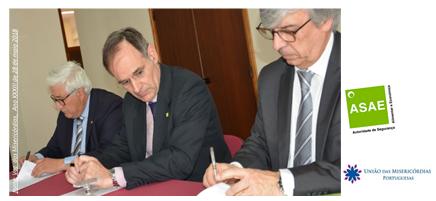 A ASAE firma Protocolo de colaboração com a União das Misericórdias Portuguesas (UMP)