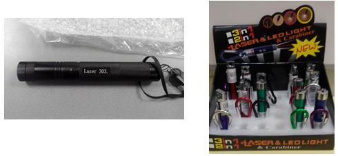 ASAE realiza operação de fiscalização de ponteiros a laser