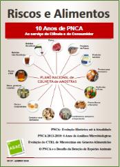 Riscos e Alimentos nº 17 - 10 Anos de PNCA