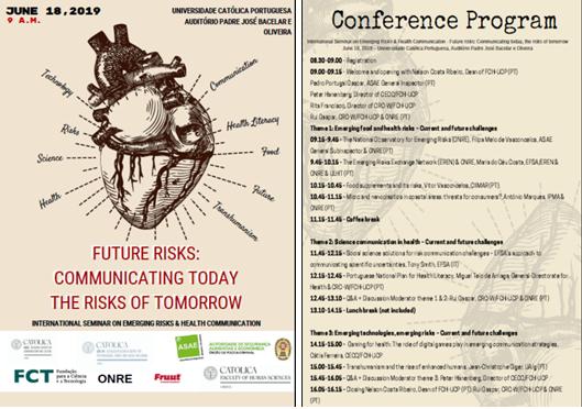 Seminário Internacional sobre Riscos Emergentes e Comunicação em Saúde
