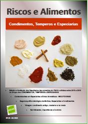 Riscos e Alimentos nº 18 - Condimentos, Temperos e Especiarias