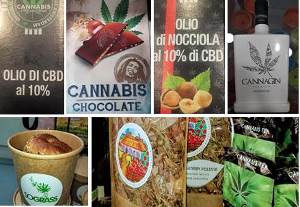 Cânhamo (Cannabis sativa) e/ou CBD (canabidiol) em Alimentos