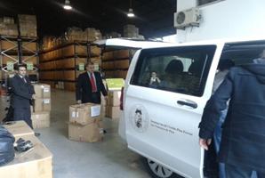 Doação ao Instituto Social Cristão Pina Ferraz em Penamacor