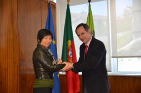 Reuniões com as Congéneres de Marrocos e Macau