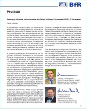 Lançamento do Almanaque de Segurança Alimentar - Edição Especial - CPLP