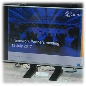 Reunião Anual de Framework Partners da CEPOL