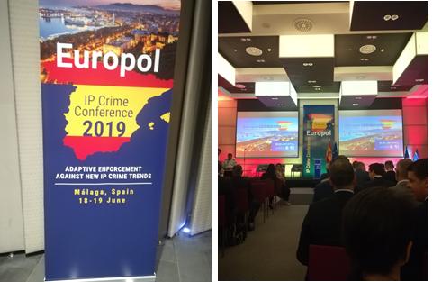 Conferência - EUROPOL Intellectual Property Crime (IPC), MÁLAGA